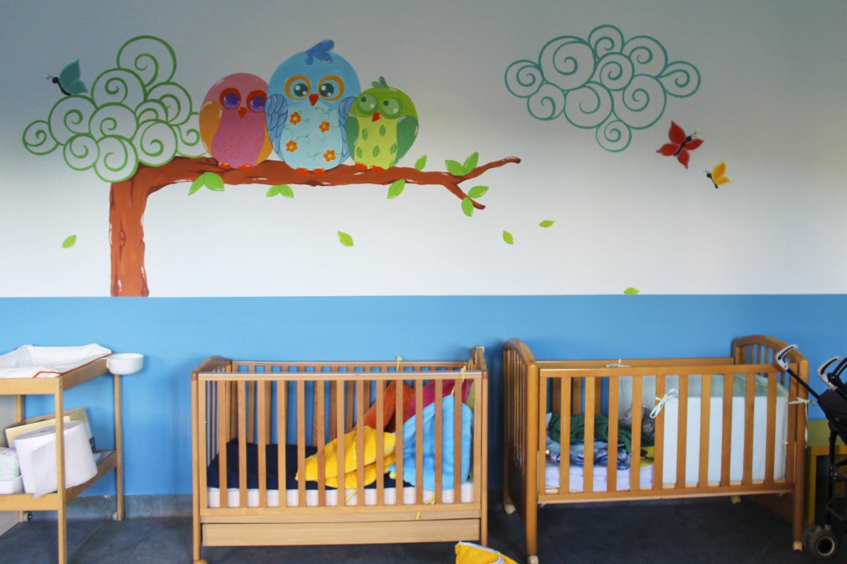 Nuovi disegni alle pareti interne della scuola scuola for Disegni da applicare alle pareti