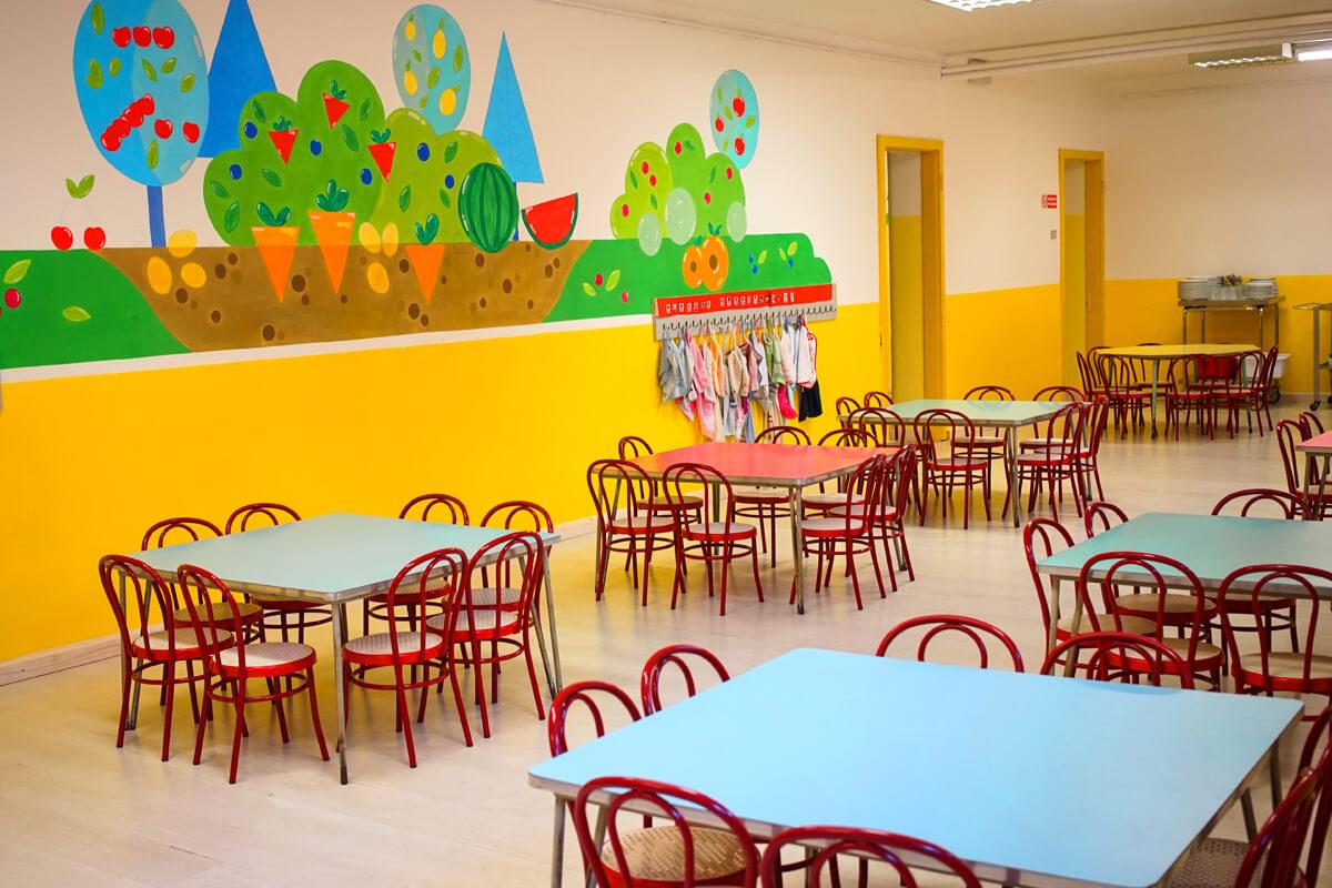 Nuovi disegni alle pareti interne della scuola scuola for Immagini per pareti interne